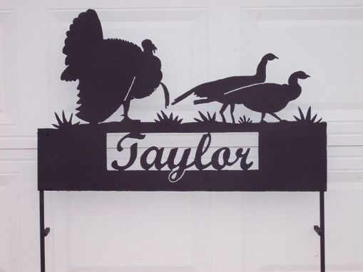 Custom Made Driveway Signs