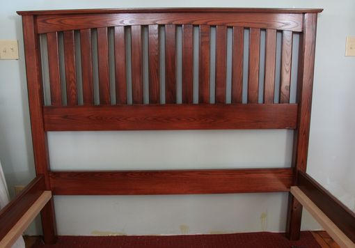 Custom Made Ash Bed Frame