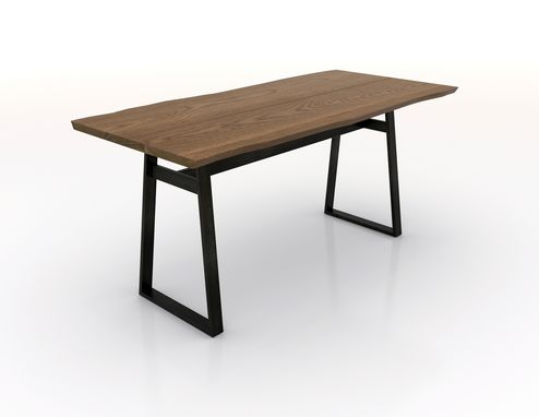 Custom Made Modern Industrial Stand-Up Conference Table