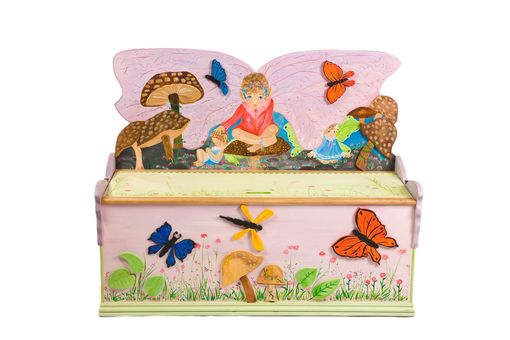Custom Made Fairy Toybox
