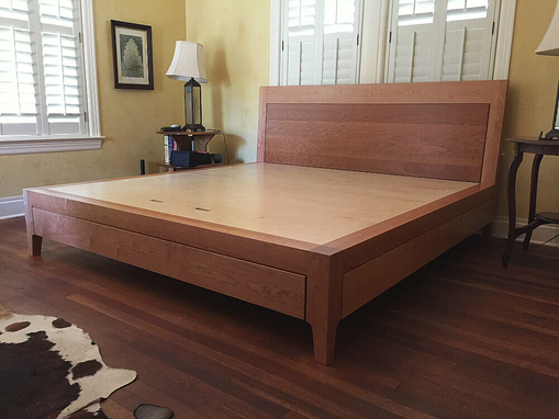 Custom Made Columbus Storage Bed