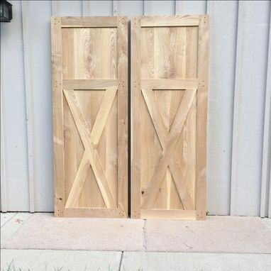 Custom Made Beautiful Farmhouse Sliding Doors