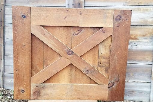 Custom Made Reclaimed Barn Door