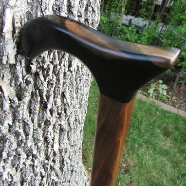 Handmade Heavy Duty Walking Cane Walking Stick Black