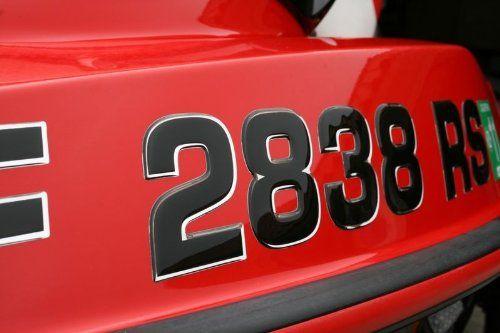 Custom Made Boat  Jetski Registration Numbers DomedRaised - Custom boat numbers