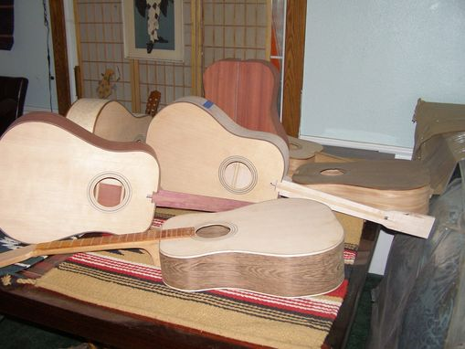 Custom Made Acoustic Guitars