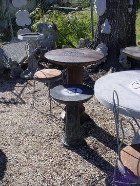 Custom Made Masonic Concrete Cocktail Table Or Custom Design Yours