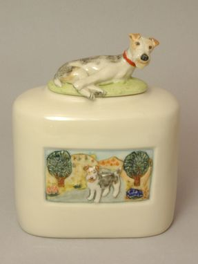Custom Made Small Dog Or Cat Urn