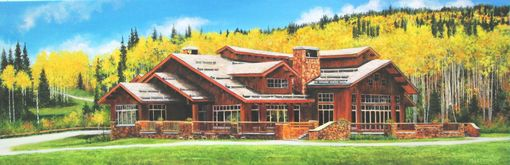 Custom Made Completed Custom Project Of The Lodge
