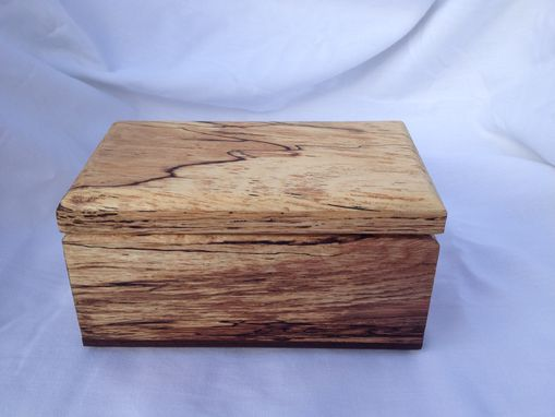 Custom Made Ring Bearers Box