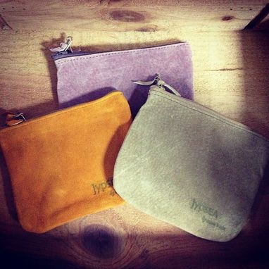 Custom Made Suede Coin Purses