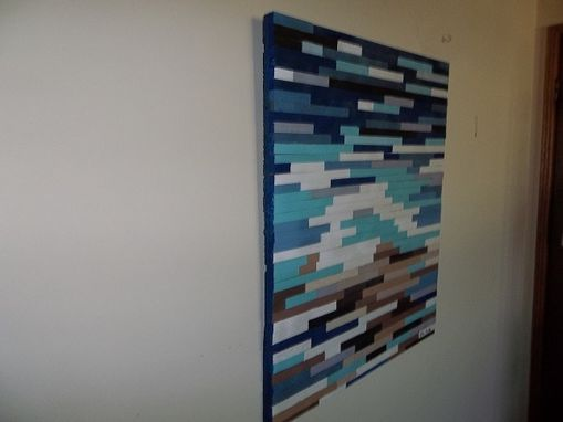 Custom Made Abstract Panel Art