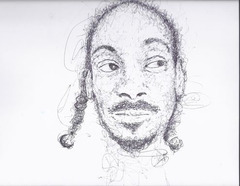 Custom Made Snoop Scribble