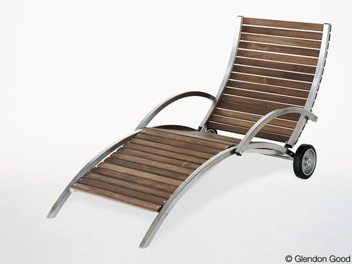 Custom Made Outdoor Lounge Chair