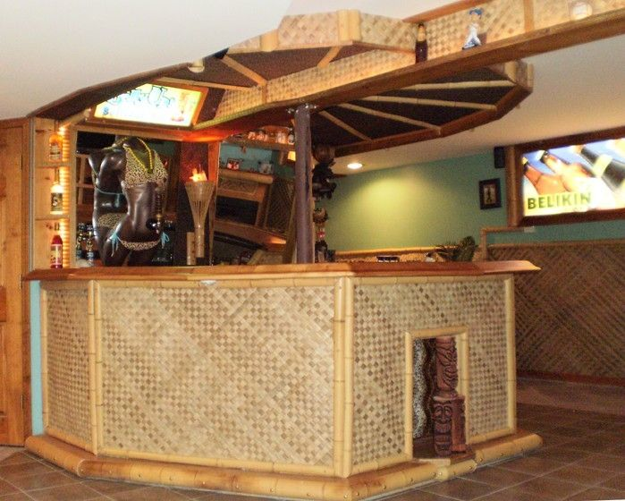 Handmade Custom Polygon Wet Bar Contruction by Belly Up Pub Hub ...