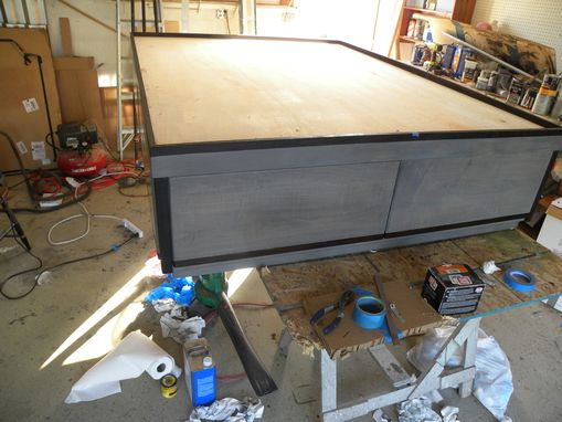 Custom Made Queen Platform Bed With Storage