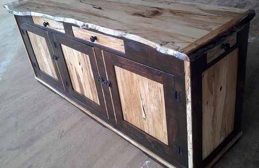 Custom Made Spalted Maple Sideboard