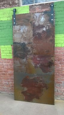 Custom Made Industrial Metal Doors