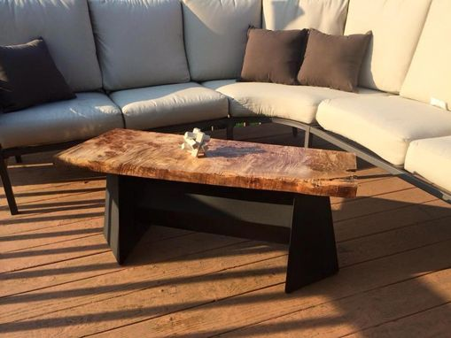 Custom Made Beautiful Maple Coffee Table Or Bench