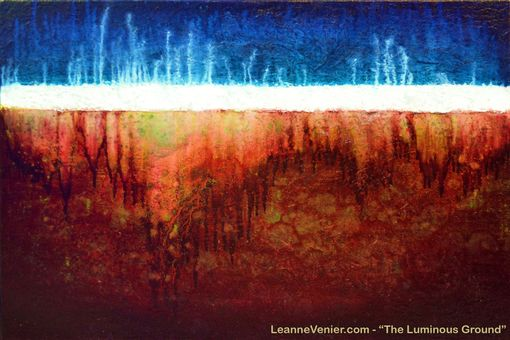 Custom Made Abstract Art - Into The Depths Series - Grounding - Current Works