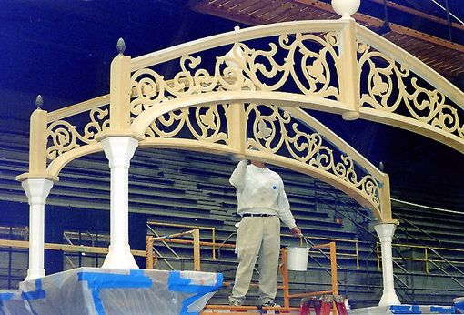 Custom Made Ornate Gazebo