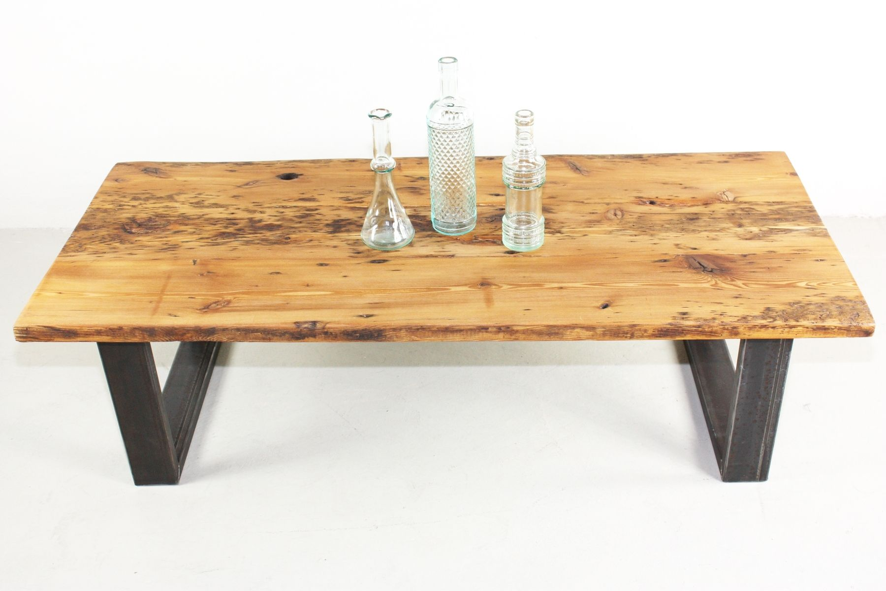 Buy a Hand Made Reclaimed Pine Coffee Table made to order from