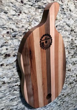 Custom Made Artisan Pear Shaped Cutting Board