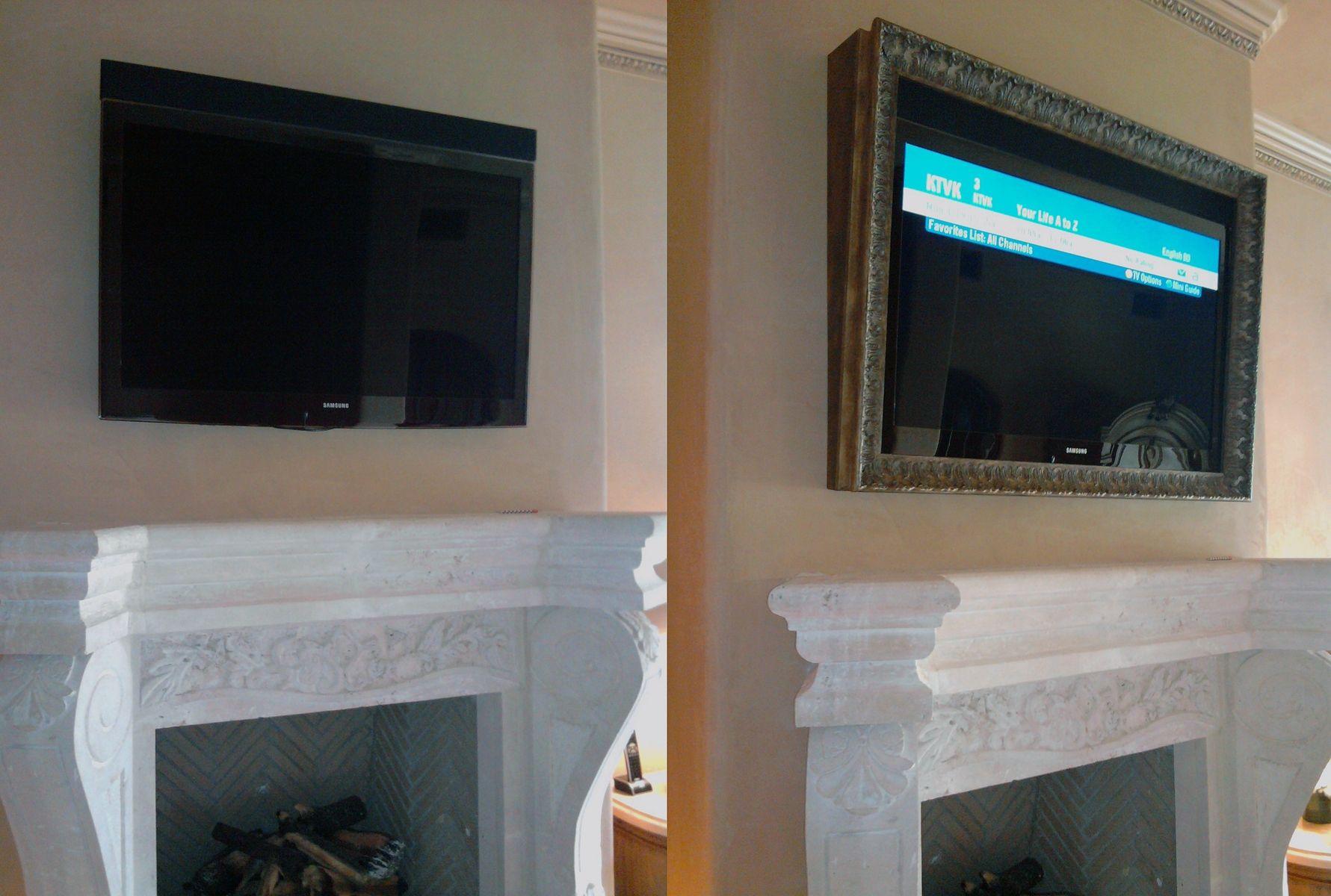 Custom Tv Frame by Frames For Flat Screens | CustomMade.com