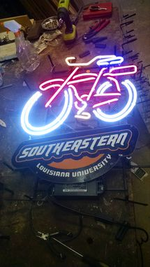 Custom Made Custom Made Sports Your College Featured On Neon Lite Sign