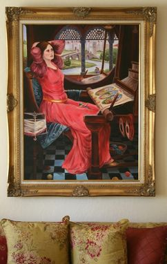 Custom Made Fine Art Painting -Reproduction, Lady Of Shalott