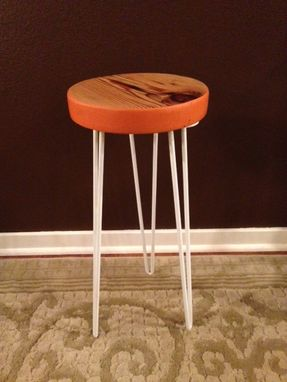 Custom Made Salvaged Fir Side Table