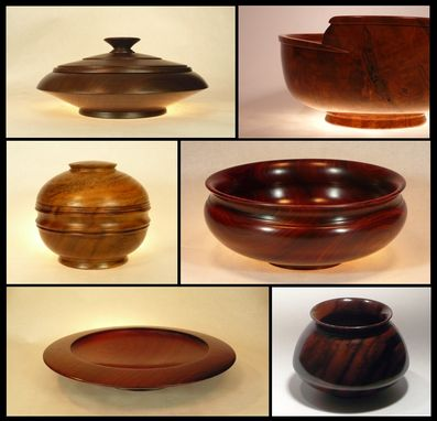 Custom Made Wooden Bowls