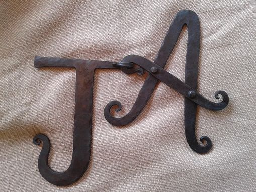 Custom Made Handforged Letters