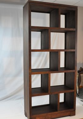 Custom Made Walnut Bookcase / Display Case
