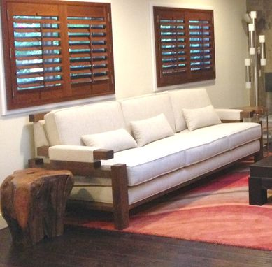 Custom Made Asian Inspired Sofa Design