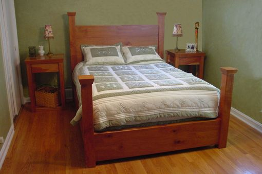 Custom Made More Braun Bevel Beds