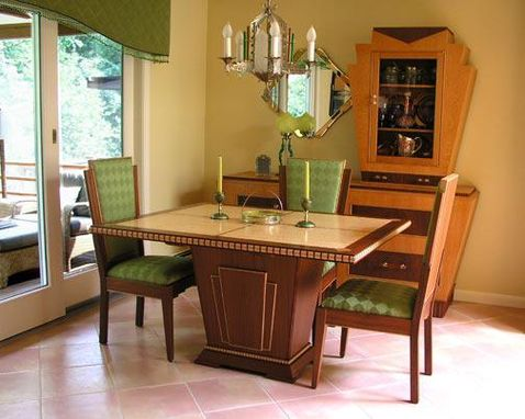 Custom Made Art Deco Dining Set