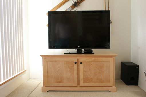 Custom Made Flat Screen Cabinet
