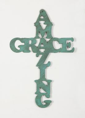 Custom Made Amazing Grace Cross