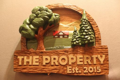 Custom Made Property Signs, Home Signs, House Signs, Cabin Signs By Lazy River Studio