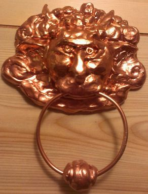 Custom Made Door Knocker Fan Art From The Movie Labrynth