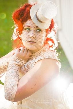 Custom Made Bridal Mini Top Hat