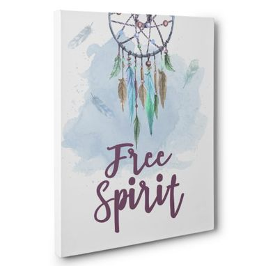 Custom Made Free Spirit Canvas Wall Art