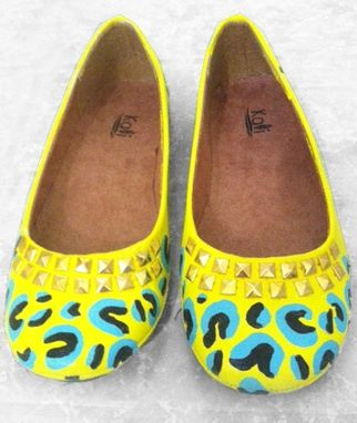 Custom Made Painted Design Flats