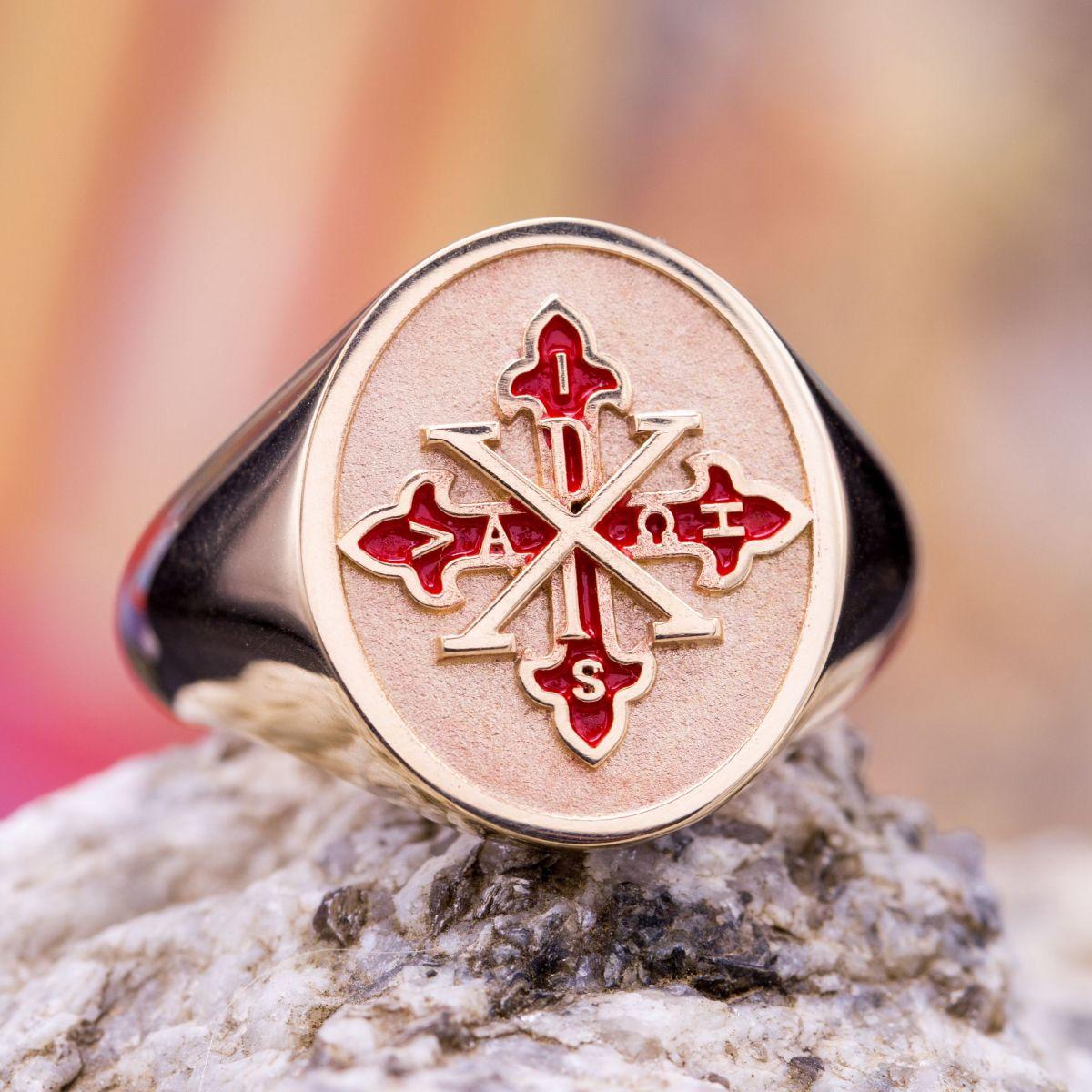 Custom Signet Rings, Family Crest Rings & Coat of Arms Rings ...