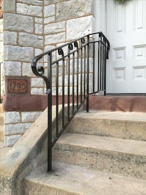 Custom Made Traditional Style Railing