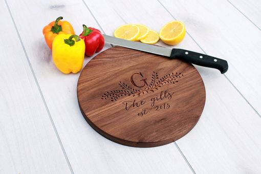 Custom Made Personalized Cutting Board, Engraved Cutting Board, Custom Wedding Gift – Cbr-Wal-Thegills