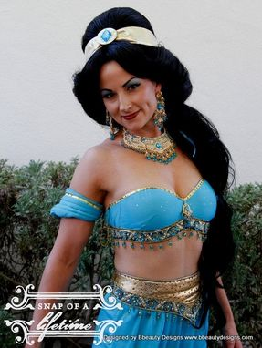Custom Made Custom Jasmine Princess Couture Adult Costume