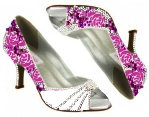 Custom Made Design Your Own Themed Wedding Shoes
