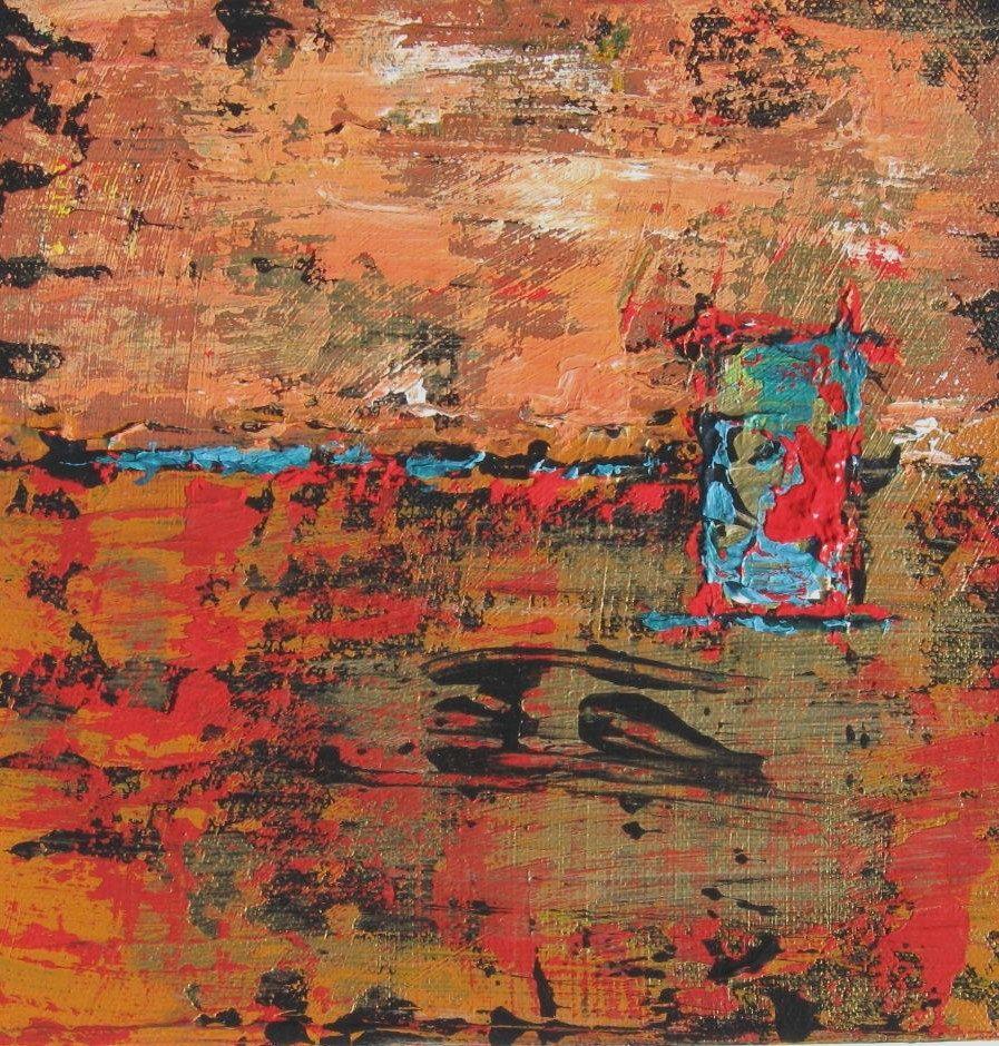 Custom Acrylic Abstract Paintings On Canvas Original